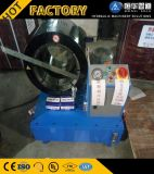 高品質2/3/4/6/8/10インチのクイックチェンジのツールの自動油圧ホースのひだが付く機械