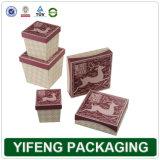 Emballages en papier carrés Box Set (FJ-232).