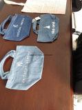 カスタム柔らかい洗浄されたデニムのジーンの戦闘状況表示板のショッピング・バッグ