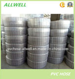 """Шланг 1/2 отводного штуцера воды стального провода PVC промышленный усиленный """" 1 """" 2 ' 3 """" 4 """""""
