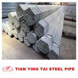 Escudo de zinc galvanizado de tubos de acero de alta