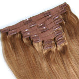100% [برزيلين] مشبك في شعر رأسا