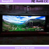 Pared video publicitaria a todo color de HD LED