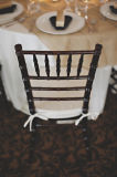 Cushionのスタック可能Wood Chiavari Restaurant Chair