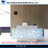 Compteur de spa moderne Tableau blanc de la réception SPA comptoir de réception