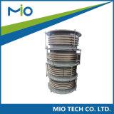 وصلات ربط المُعوِّض توازن الضغط SS304 وصلات التمدد المُربَّزة العامة المعدنية طي مرن