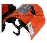 7HP Granja Agricultura máquina rotativa Cultivador de alimentación del timón