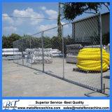 La rete fissa provvisoria galvanizzata di collegamento Chain riveste le barriere di pannelli