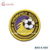 축구 자수 패치/Embroideried 기장/수를 놓은 접어젖힌 옷깃 Pin
