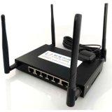 1 5 LAN/WAN/RS232/RS485/USB/Gpios Router 4G LTE con doble tarjeta SIM