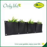 Onlylife sentía el plantador colgante del plantador vertical movible económico de la pared