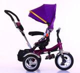 Heißes Verkaufs-Baby-Dreirad scherzt SpaziergängerPram mit gedrehtem Geschäftemacher des Sitzdrei