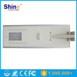 Luz de calle solar de la mejor del precio de litio lámpara de la batería 80W LED