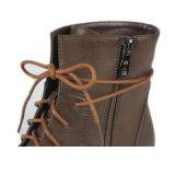 Высокий удобный первоклассный ботинок женщин ботинка лодыжки