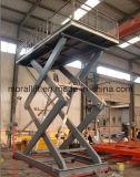 Carro elevador de tesoura hidráulica automática