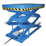 Manuseio de Materiais, equipamento de elevação da mesa de elevação para depósito usando