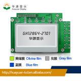 習慣82*60mm Stnの図形128X64 LCDモジュールの表示