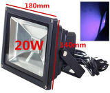 Luz de inundação UV ultravioleta IP65-Waterproof do diodo emissor de luz do poder superior 10W-50W de Houlight (C.A. 85V-265V) para curar-se, Blacklight, pesca, aquário, fulgor na obscuridade
