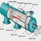100micron 220V50Hz 6MPa 30s 200L Discharge Aquarium Filter