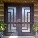 装飾的な前部錬鉄のドアの挿入