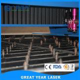 Máquina cortando cortada beijo do laser do leito automático do laser de Guangzhou