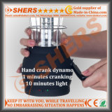 크랭크를 부착하는 다이너모, USB (SH-1991)를 가진 60의 LED 태양 야영 빛
