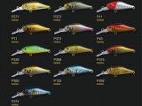 Attrait en plastique de pêche (vairon nano 40mm flottant)