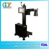 marcador do laser da fibra de 20With 30W /50W para a tubulação do plástico de PP/PVC/PE/HDPE