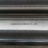 Filtre de sable souterrain de Drlling de puits d'écran d'enveloppe de fil de base de Rod de fil de cale de Johnson
