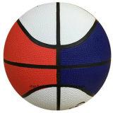 أحمر بيضاء زرقاء حجم 7 مطاط كرة سلّة