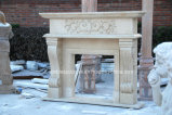 Camino di marmo antico intagliato mano Sy-304