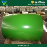 Acier enduit galvanisé enduit d'une première couche de peinture PPGI de couleur en acier de la bobine PPGI