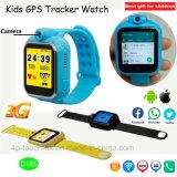 La montre 2017 de traqueur des gosses GPS de réseau 3G avec le vidéo appelle D18s
