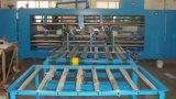 두 배 헤드 판지 상자를 만들기를 위한 자동 장전식 판지 상자 바느질 기계