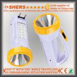 12のLED表ライト(SH-1959)が付いている再充電可能な1W LEDの懐中電燈