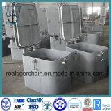 Tipo marina a/B/C/D/E/F de la cubierta de la portilla del acero de carbón