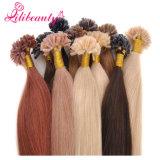 U-Наклоните выдвижение человеческих волос волос кератина перуанское