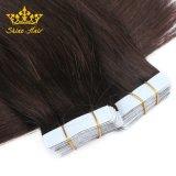 Extensions de cheveux humains de haute qualité de PU de la bande dans les Extensions de cheveux