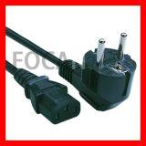 CE, VDE шнур питания и кабель расширения Европейского союза (FC-16146)