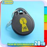 Hohe Sicherheit Soem 125kHz las nur TK4100 RFID Kleber-Rissabsinken keyfob