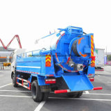 4X2 Dongfeng 125 HPは水スプレーのトラックが付いている吸引のトラックに掃除機をかける