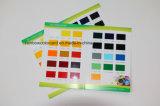 Kundenspezifische gedruckte Papierfarben-Karte