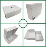 Fsc 증명서에 의하여 재생되는 주문 백색 마분지 구두 상자