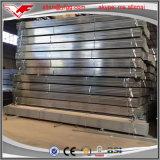 Tubo d'acciaio quadrato della costruzione della serra e rettangolare pre galvanizzato