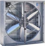 Fan de ventilador industrial de hidroponia com obturador centrífugo