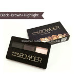 Los cosméticos la sombra de ojos en polvo 3 Color Eyeshadow Palette