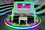 2016 실내 아케이드 오락을%s 최신 호화스러운 전자 시뮬레이터 피아노 게임 기계