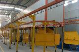 Máquina de capa competitiva del polvo para los productos de metal