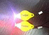 Luz plástica de la bici del LED