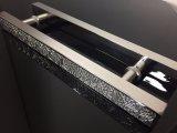 Mosaïque de verre en acier inoxydable Tirez les poignées de porte